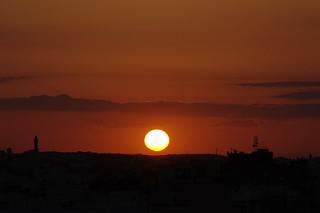 Soleil sur Lamta