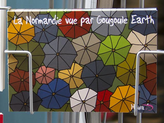 Honfleur postcard