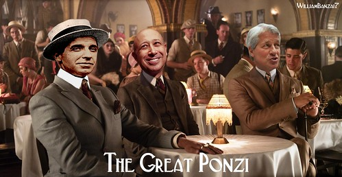 THE GREAT PONZI by WilliamBanzai7/Colonel Flick