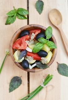 summer vegetables salad.6
