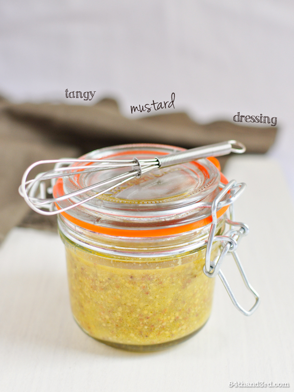 Tangy Mustard Dressing