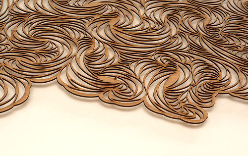 Laser cut commission - detail