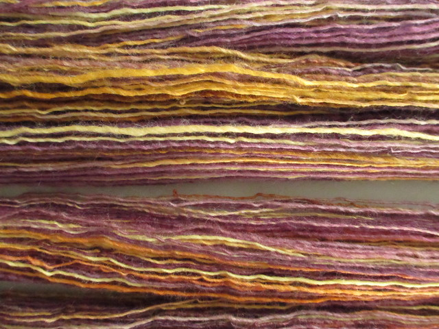 Handspun - single ply