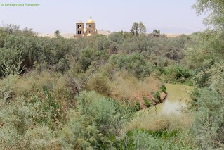 Jordan, a view of the Jordan River