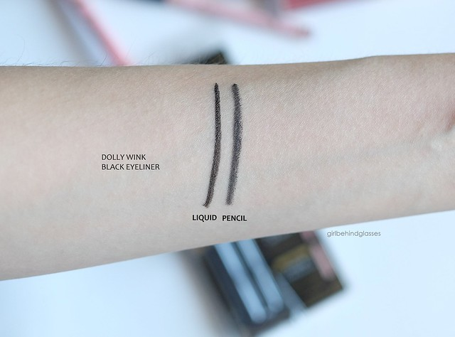 Dolly Wink Eyeliner swatch