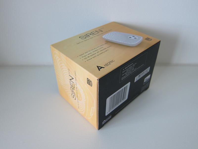 Aeon Labs Aeotec Z-Wave Siren - Box
