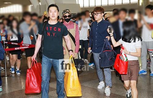 BIGBANG Gimpo to Jeju 2015-05-19 2015-05-19 04