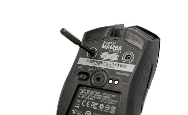 Razer 無線鼠王!Razer Mamba 16000 曼巴眼鏡蛇開箱分享 @3C 達人廖阿輝