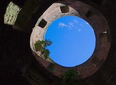 Hole towards the sky