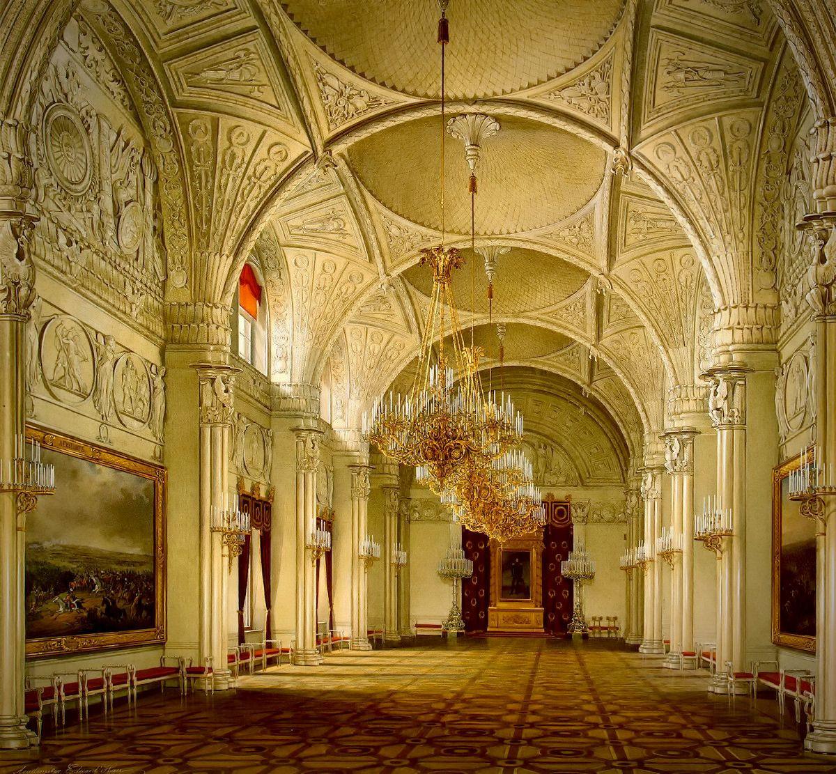 The Alexander Hall, 1860