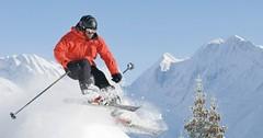 Tipy na lehké freeridové terény: Engadin, Disentis a vrchol Bishornu