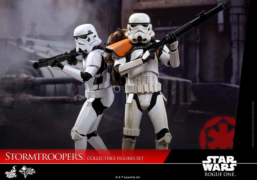 Hot Toys - MMS394 - 《星際大戰外傳:俠盜一號》1/6 比例 帝國風暴兵套裝組 Stormtroopers Collectible Figures Set