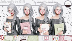 ♡ Subscriber Gift - My Autumn Notebook ♡