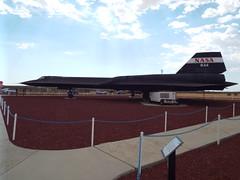 Blackbird SR71/A #61-7980 (NASA 844) Dryden  Flight Research Centre at Edwards AFB, CA.
