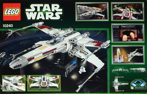STAR WARS DIE CUT REPLACEMENT PLAQUE STICKER for UCS Lego 7191 X-WING FIGHTER +