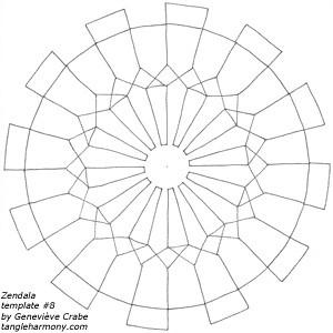 Zendala template #8