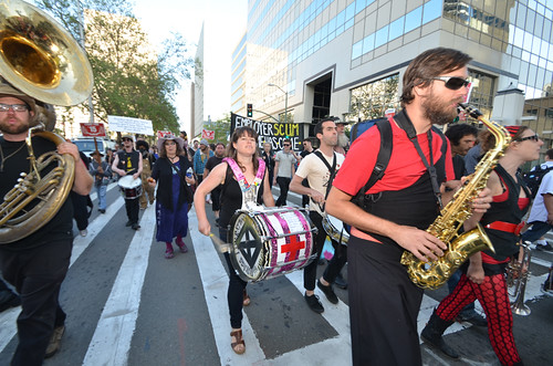 2013/05/01 May Day in Oakland, California