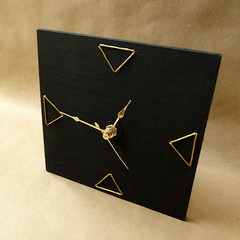 Embroidered Clock