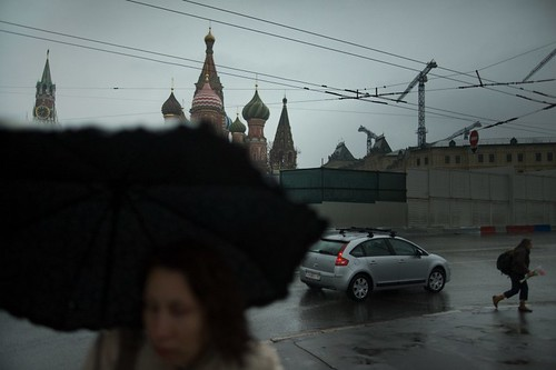 rainy in Moscow...