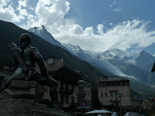 "Chamonix from the book ""Frankenstein (1818)"" by Mary Shelley"