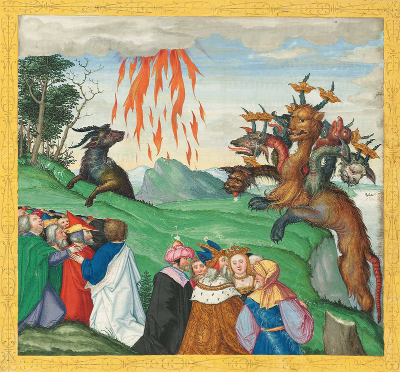 Ottheinrich Bible Painting - 2 (15th-16th century, Bavaria)