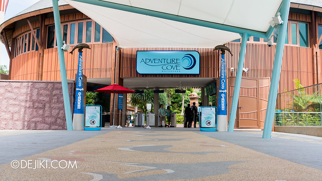 Marine Life Park Singapore - Adventure Cove Waterpark - Entrance