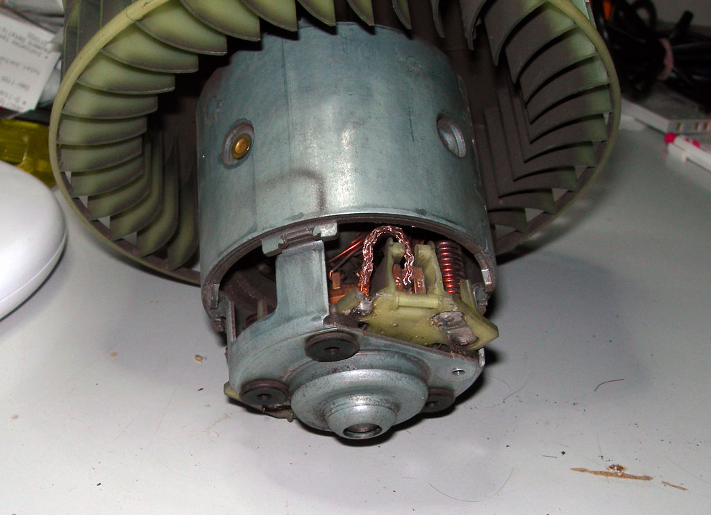 How to replace blower fan brushes ozbenz for How much is a blower motor for a car