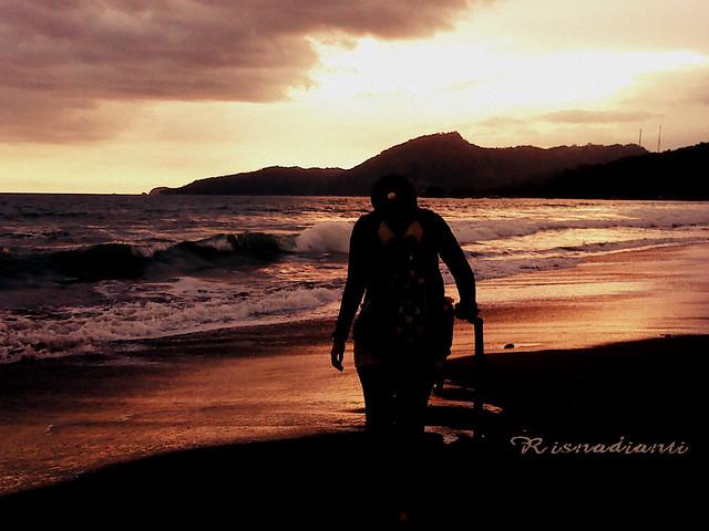 Risna at Pantai Karang Hawu