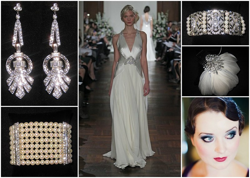 Bridal Styles Great Gatsby - Flapper