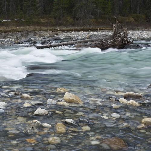canada rock river landscape banff rapid snowmelt kootenaynationalpark rockflour manuallensnocpu