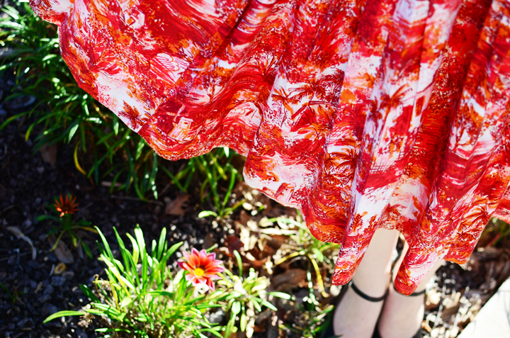 vintage-print-dress a