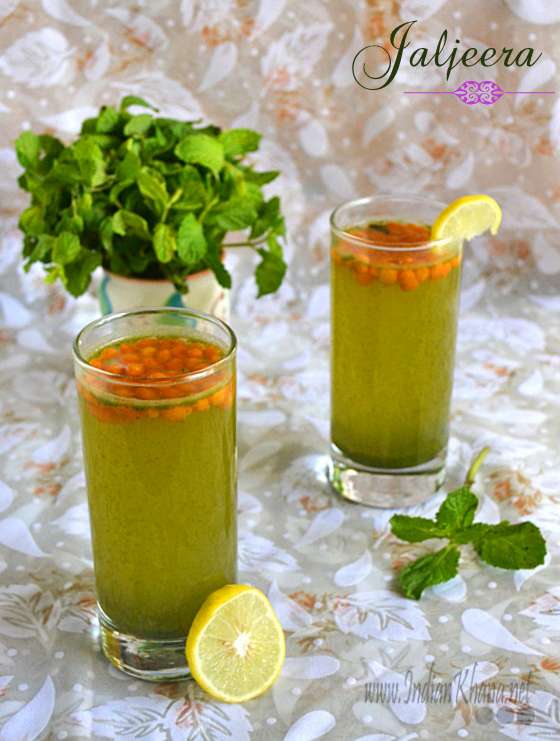 Jaljeera (Mint Lemonade)