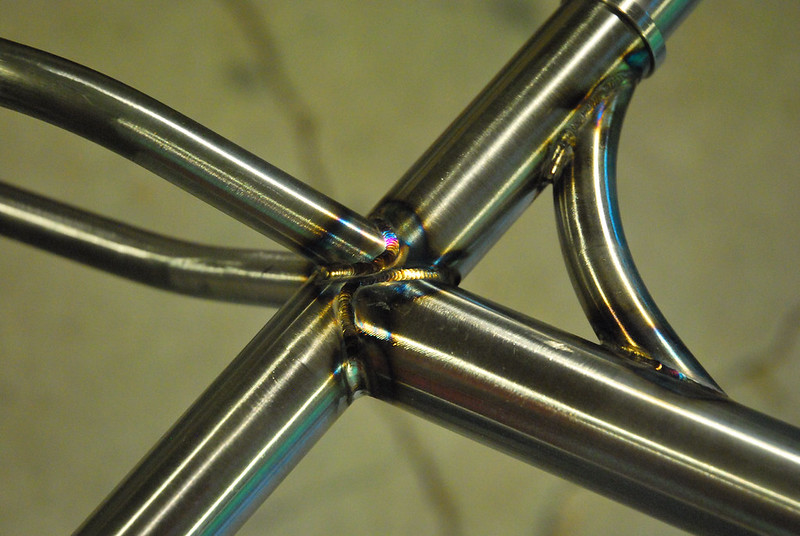 Seat Tube Junction Welds