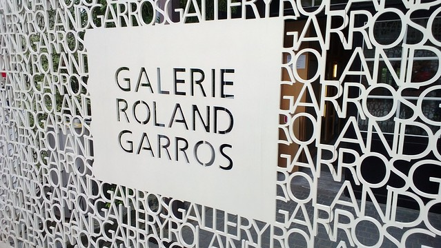 Tennis museum at Roland Garros