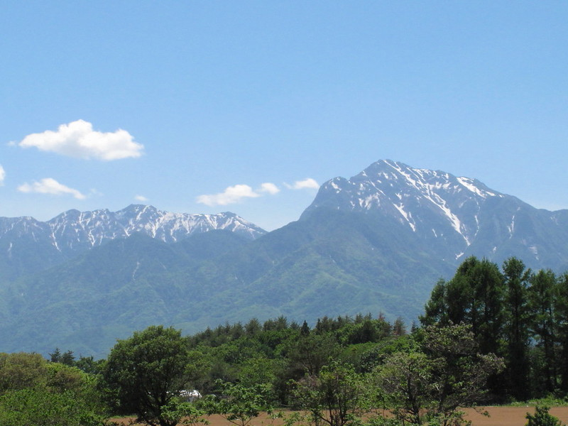 Early summer mountains