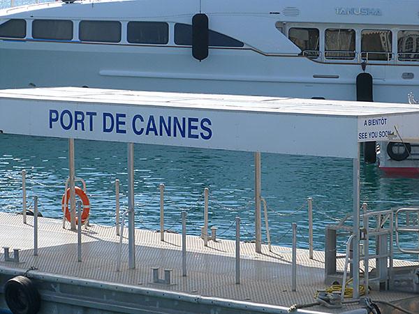 port de Cannes A bientôt