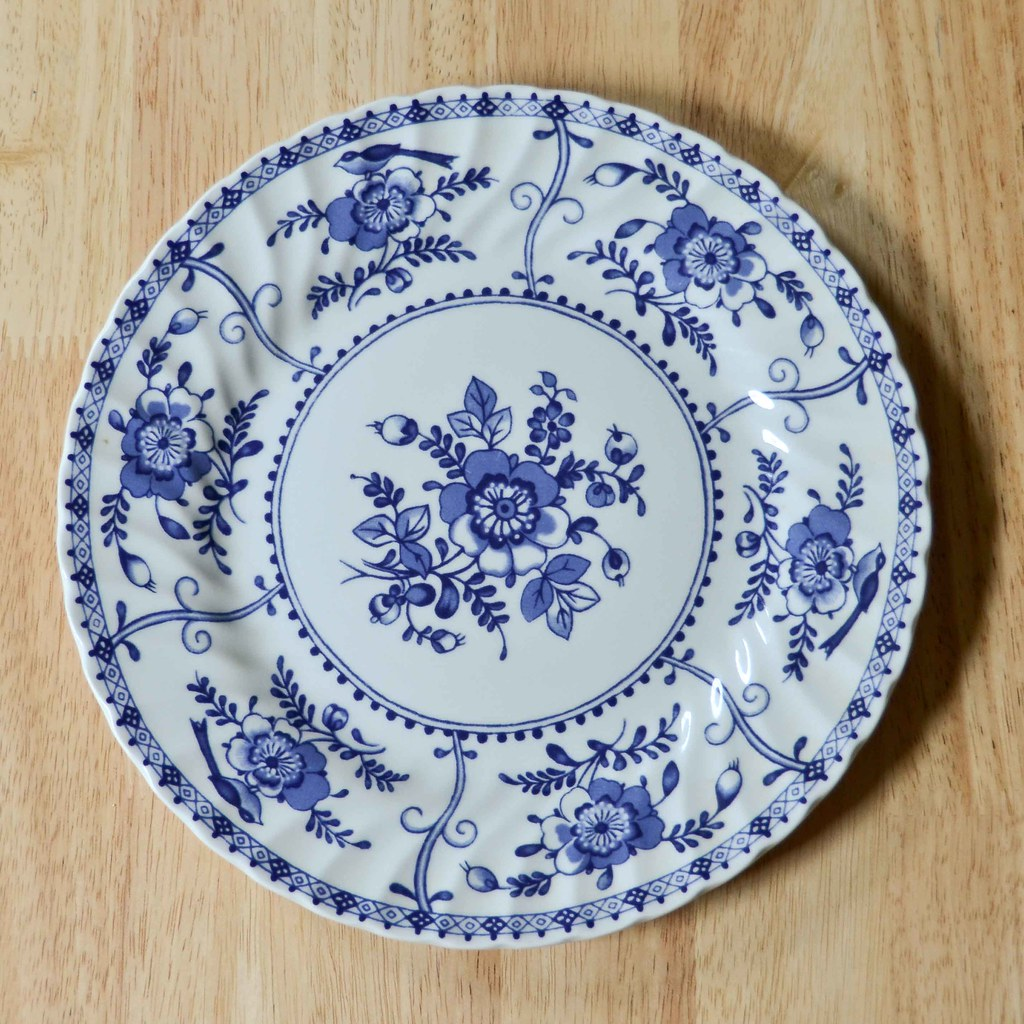 "Johnson Bros England 1883 ""Indies"" Plate"