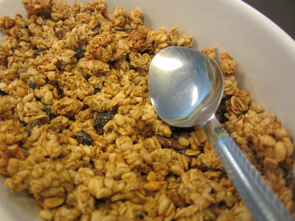 granola cereal Cereals ready-to-eat, homemade