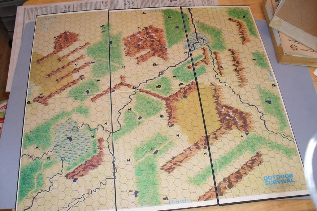 Outdoor Survival map