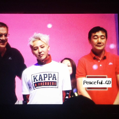 G-Dragon - Kappa 100th Anniversary Event - 26apr2016 - Peaceful__GD - 02