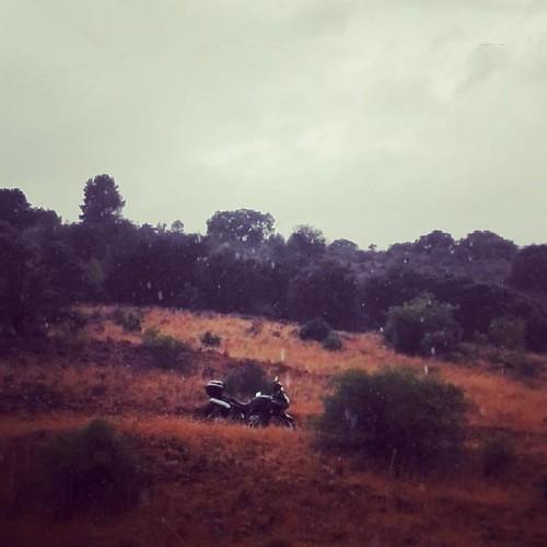 #vstrom #lluviadeverano #sierradealcaraz #caladitos