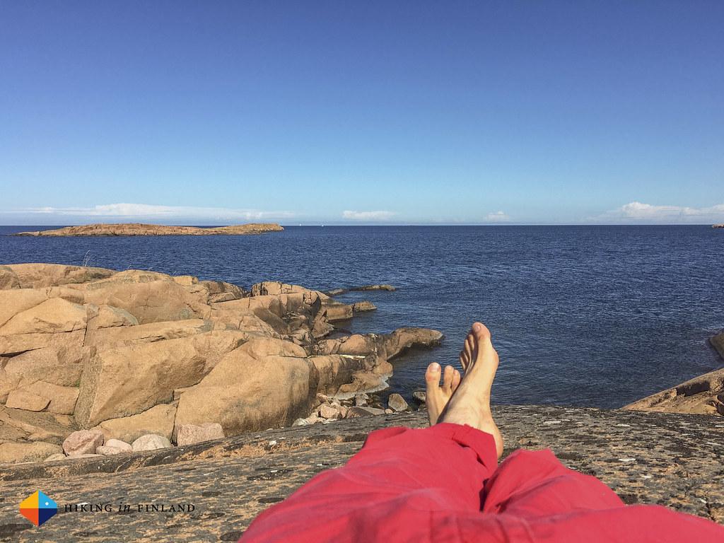 Relaxing at Fågelberget