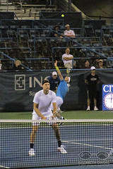Jack Sock and Steve Johnson at the 2016 Citi Open