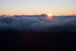 Zonsopkomst Haleakala