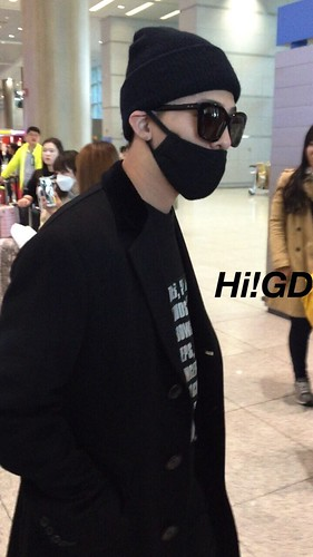 Big Bang - Incheon Airport - 10apr2015 - G-Dragon - Hi GD - 09