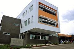 Front Elevation/Main Entrance Off 12th Avenue NE:  Hazel Wolf K-8 @ Pinehurst, Seattle Public Schools