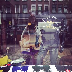 window shopping. #amsterdam #sundayafternoon