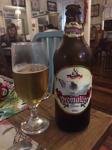 Foz do Iguaçu: une très bonne bière brésilienne !