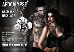!NFINITY Apocalypse Gasmask Necklace