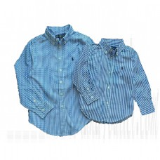 Boys Shirts Bengal-Striped Cotton Shirt 3-20 Years